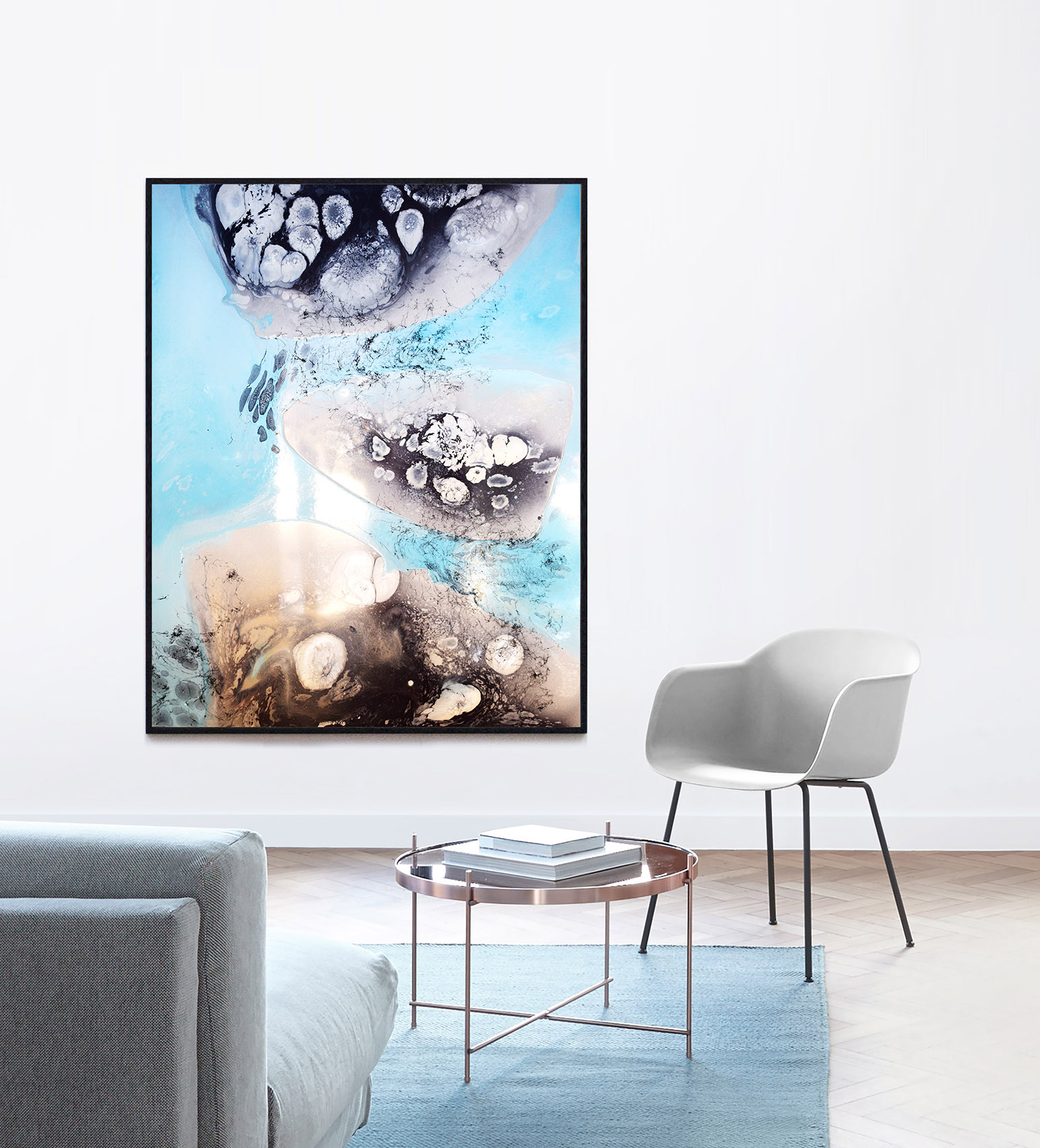 Katarzyna Pander-Liszka, malarstwo we wnętrzach